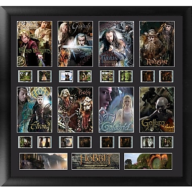 Trend Setters The Hobbit Character Montage FilmCell Presentation Framed Vintage Advertisement