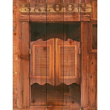 Gizaun Art Saloon Door Photographic Print; 28 x 36
