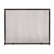Minuteman Colonial Wrought Iron Fireplace Screen; 33'' H x 44'' W