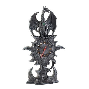 Zingz & Thingz Gothic Dragon Clock