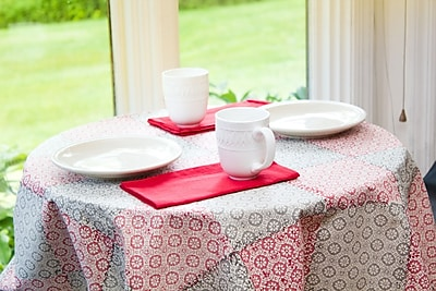 Sustainable Threads Ember Tablecloth; 43'' W x 43'' L
