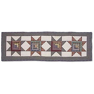 Patch Magic Cottage Star Table Runner; 54'' W x 16'' L