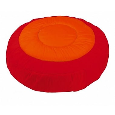Wesco NA Cocoon Kids Floor Cushion Cover; Red / Orange