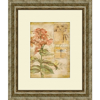 PTM Images Flora Bumblebee B Framed Painting Print