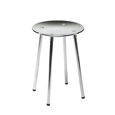 WS Bath Collections Complements Noni Bathroom Stool; Chrome