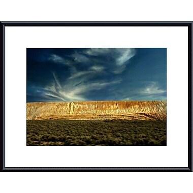 Printfinders Tailings Landscape by John K. Nakata Framed Photographic Print; Black