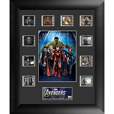 Trend Setters Avengers Mini Montage FilmCell Presentation Framed Vintage Advertisement