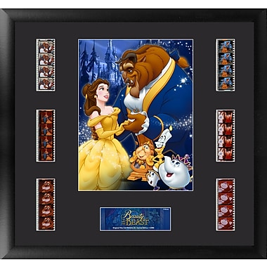 Trend Setters Beauty and the Beast Montage FilmCell Presentation Framed Vintage Advertisement