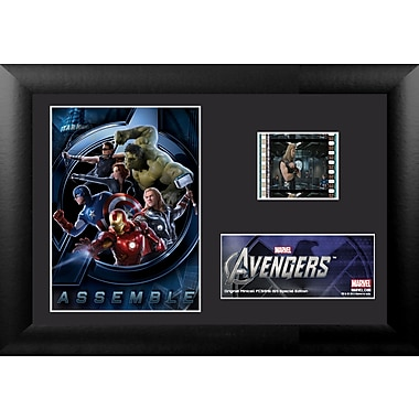 Trend Setters Avengers Mini FilmCell Presentation Framed Vintage Advertisement