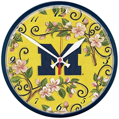 Wincraft NCAA 12.75'' Wall Clock; Michigan University