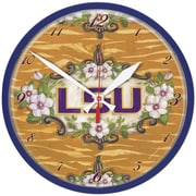 Wincraft NCAA 12.75'' Wall Clock; Louisiana State University
