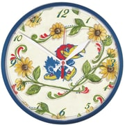 Wincraft NCAA 12.75'' Wall Clock; Kansas University