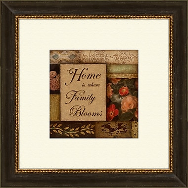 PTM Images Home and Love A Framed Graphic Art