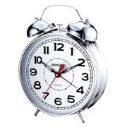 Maples Clock 4'' Desktop Double Bell Alarm Clock