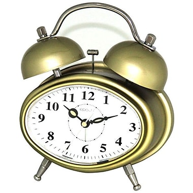 Maples Clock Double Bell Melody Alarm Clock