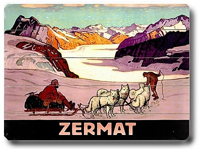 Artehouse LLC Zermat Vintage Advertisement Plaque