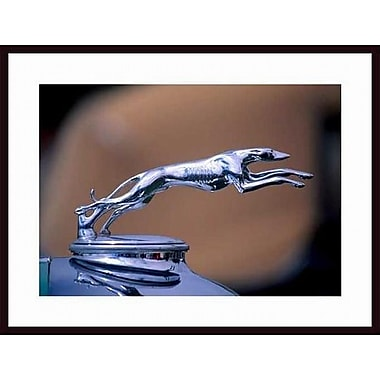 Printfinders '1927 Lincoln Hood Ornament' by John Nakata Framed Photographic Print
