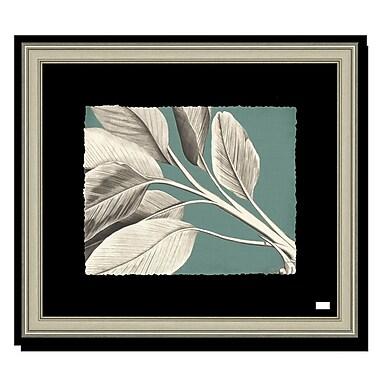 Melissa Van Hise Rheede's I Framed Graphic Art; Aqua