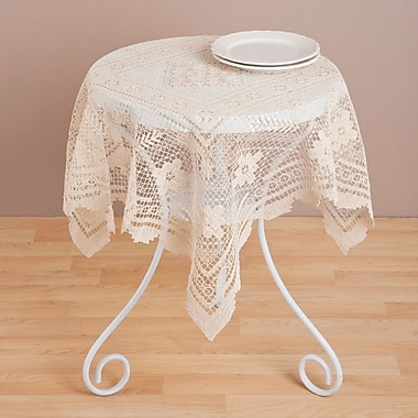 Saro ''Tuscany'' Lace Table Topper