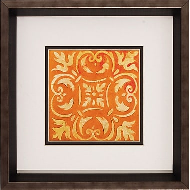 Propac Images 'Mosaic Tile III / IV' 2 Piece Framed Graphic Art Print Set