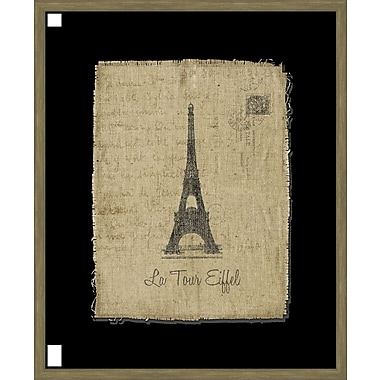 Melissa Van Hise Tour de Eiffel Framed Graphic Art