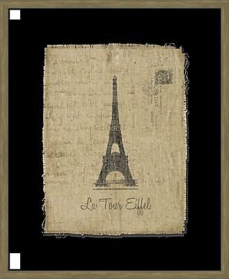 Melissa Van Hise Tour de Eiffel Framed Graphic Art