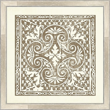 Melissa Van Hise Tiles IV Framed Graphic Art