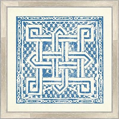 Melissa Van Hise Tiles I Framed Graphic Art
