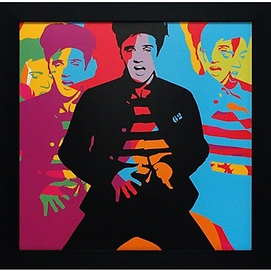North American Art Suspicious Minds by Lobo Framed Graphic Art