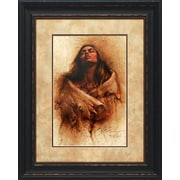 North American Art 'Stirring Thoughts' by Lee Bogle Framed Painting Print