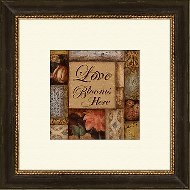 PTM Images Home and Love B Framed Graphic Art