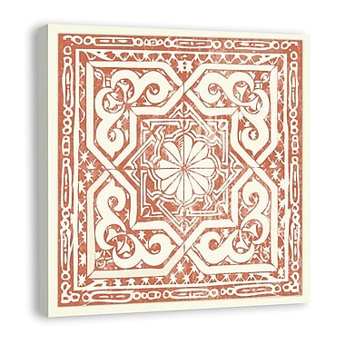Melissa Van Hise Tiles II Graphic Art on Wrapped Canvas