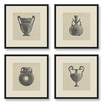 Melissa Van Hise 4 Piece Framed Graphic Art Set