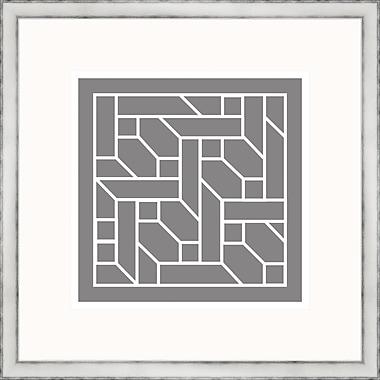 Melissa Van Hise Gray Geometrics ll Framed Graphic Art