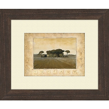 PTM Images Memories of Tuscany B Framed Graphic Art