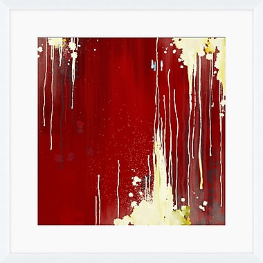 PTM Images Paint Splats Framed Painting Print