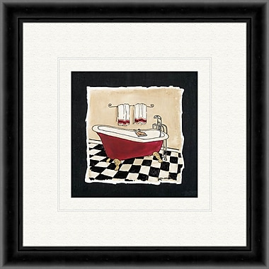 PTM Images Old Fashioned Tub B Framed Painting Print