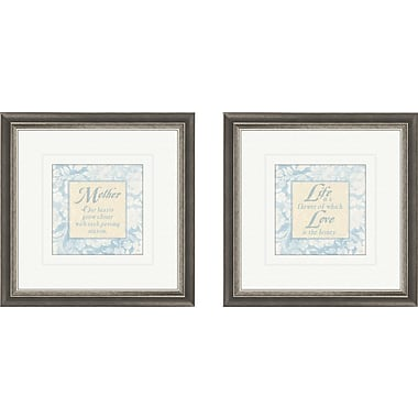 PTM Images Inspirational Mother 2 Piece Framed Graphic Art Set
