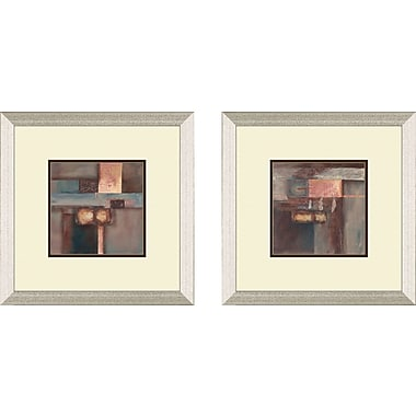 PTM Images Contemporary Fall 2 Piece Framed Painting Print Set