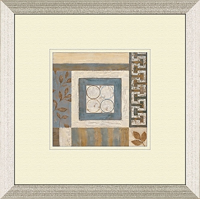 PTM Images Abstract Plan B Framed Painting Print