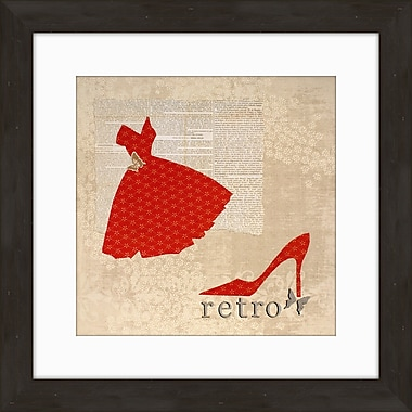 PTM Images Retro Framed Graphic Art