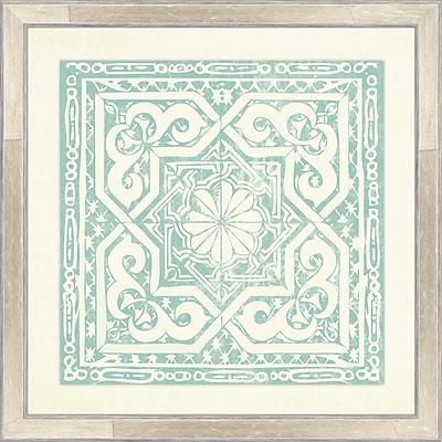 Melissa Van Hise Tiles II Framed Graphic Art