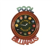 RAM Game Room Game Room It's Time Wall Clock