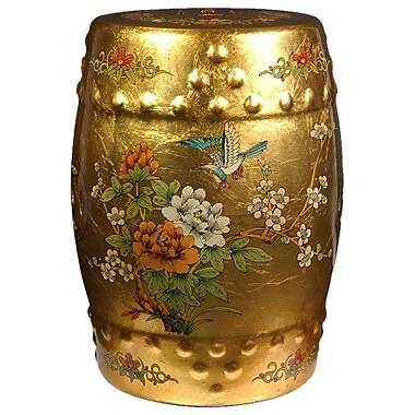 Oriental Furniture Asian Opulence Garden Stool
