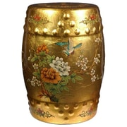 Oriental Furniture Asian Opulence Garden Stool