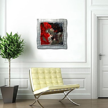 All My Walls 'Red Kiss' by Pol Ledent Painting Print Plaque