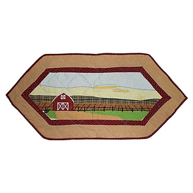 Patch Magic Barnyard Table Runner; 36'' W x 16'' L