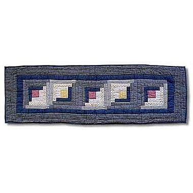 Patch Magic Sail Log Cabin Table Runner; 54'' W x 16'' L