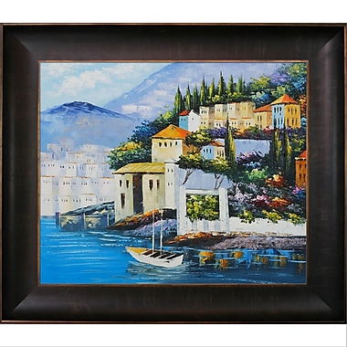 Tori Home Italy at Dusk Framed Painting Print
