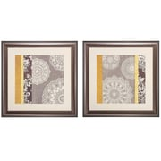 Propac Images 'Contemporary' 2 Piece Framed Graphic Art Print Set